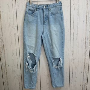 Brandy Melville Ripped Mom Jeans